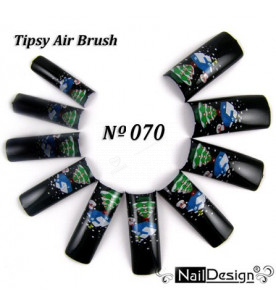 no. 70 Air Brush Nail...