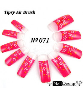 no. 71 Air Brush Nail...