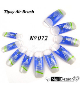 no. 72 Air Brush Nail...