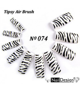 no. 74 Air Brush Nail...