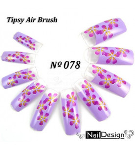 no. 78 Air Brush Nail...
