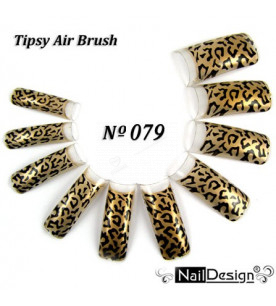 no. 79 Air Brush Nail...