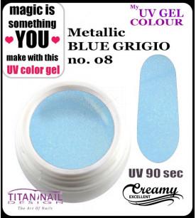 no. 08 - metallic blue...