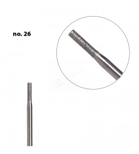 no.26 & 26 rectangular thin shaped diamond cosmetic bit