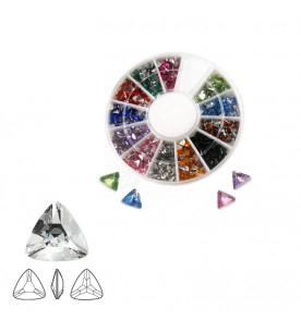 Triangle rhinestones mix...