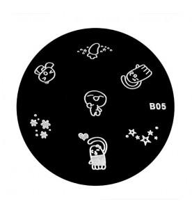 B05 Stamping Plate Nailart...