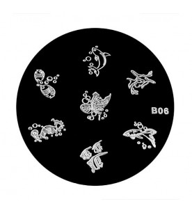 B06 Stamping Plate Nailart...