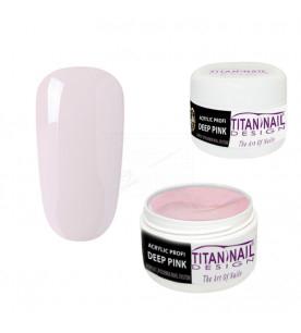 Deep Pink acrylic powder...