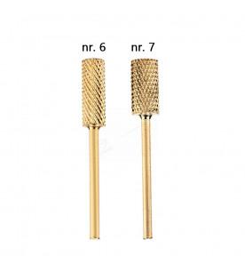 nr 6 lub 7 Carbide gold...