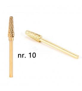 no. 10 Carbide gold...