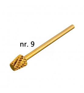 no. 9 Carbide gold Longlife...