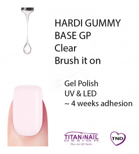 Clear Gummy Base  Hardi TND...
