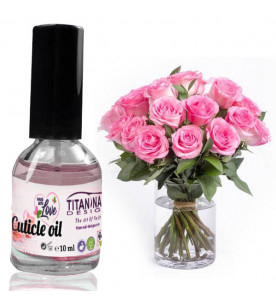 Roses cuticle oil with...