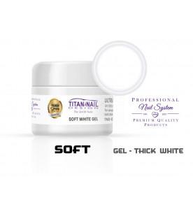 Soft white GEL UV medium...