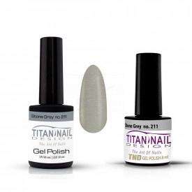 no 211 gel polish  tnd  titan nail design